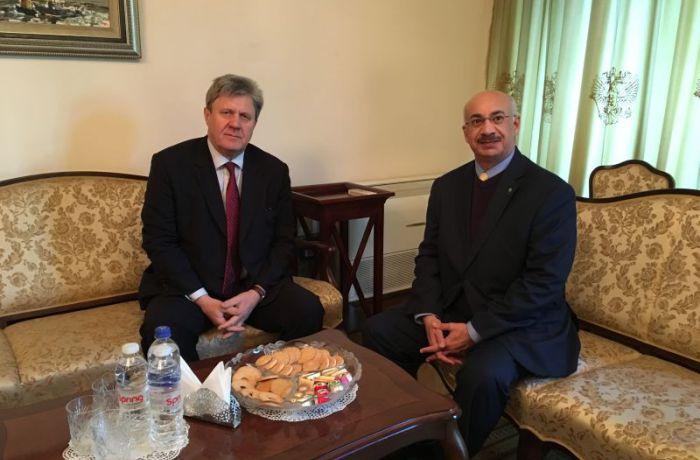 Российский посол в Албании встретился с кувейтским коллегой