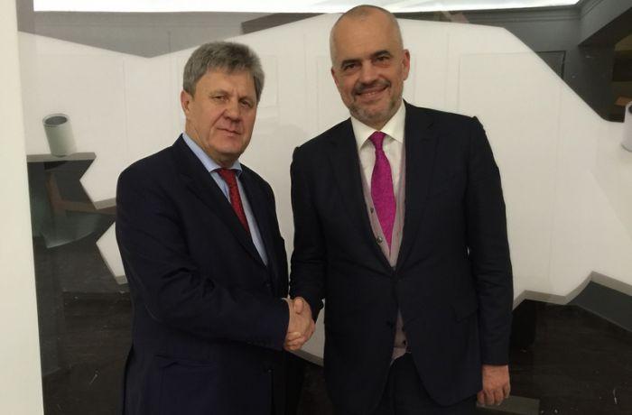 Посол России в Тиране встретился с Премьер-министром Албании