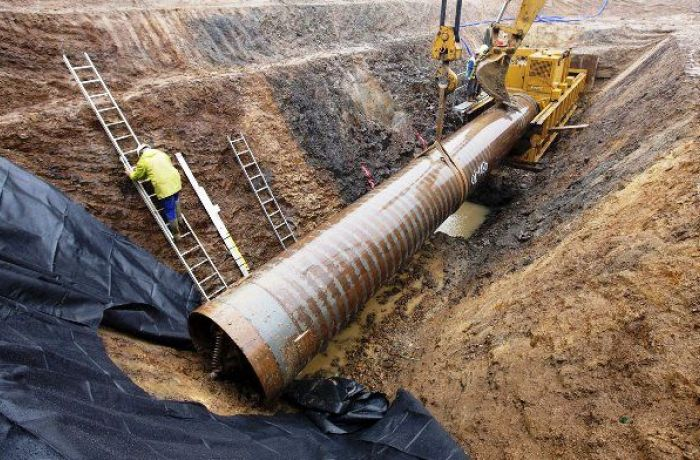 Строительство TAP: по территории Албании и Греции проложено около 95 км труб