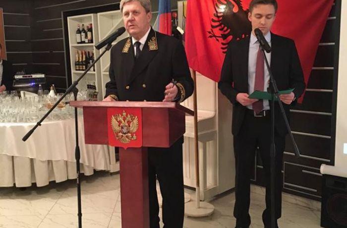 Российское посольство в Тиране провело прием по случаю Дня дипломатического работника