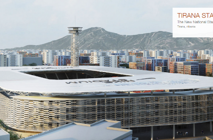 Как будет финансироваться строительство главной футбольной арены в Албании