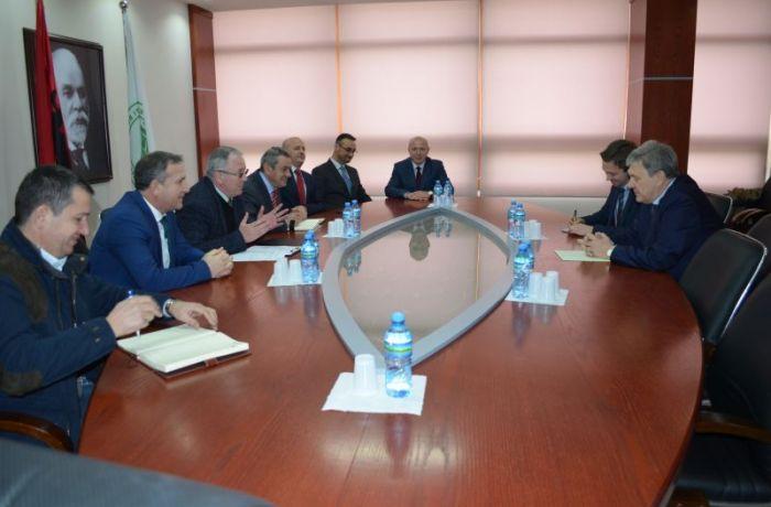 Посол России встретился с руководством Тиранского сельскохозяйственного университета