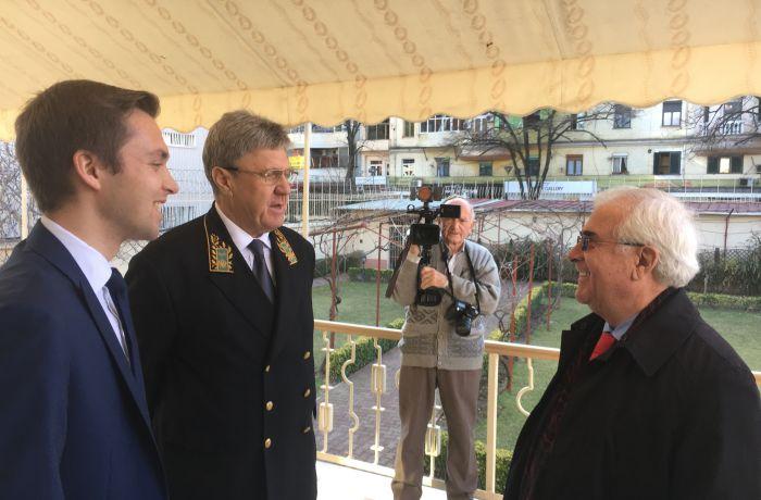 Посольство России в Албании отпраздновало День дипломатического работника