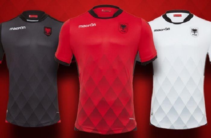 Как выглядит новая униформа футболистов сборной Албании