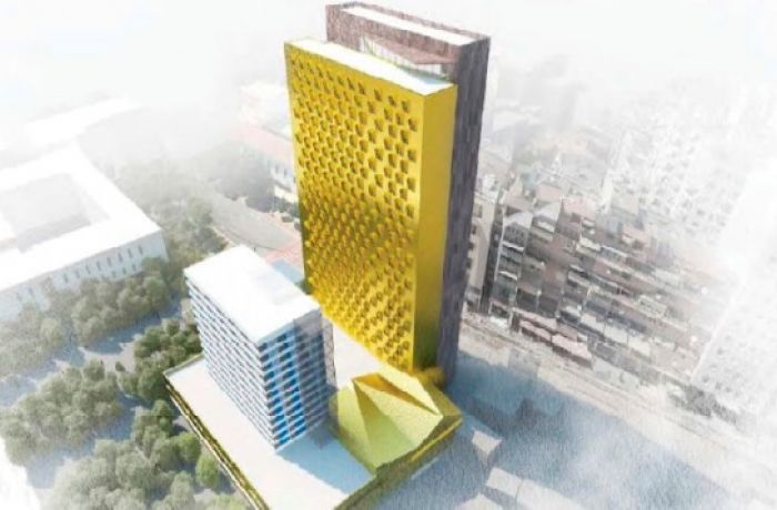 Утверждено строительства 111-метрового небоскреба за отелем Tirana International