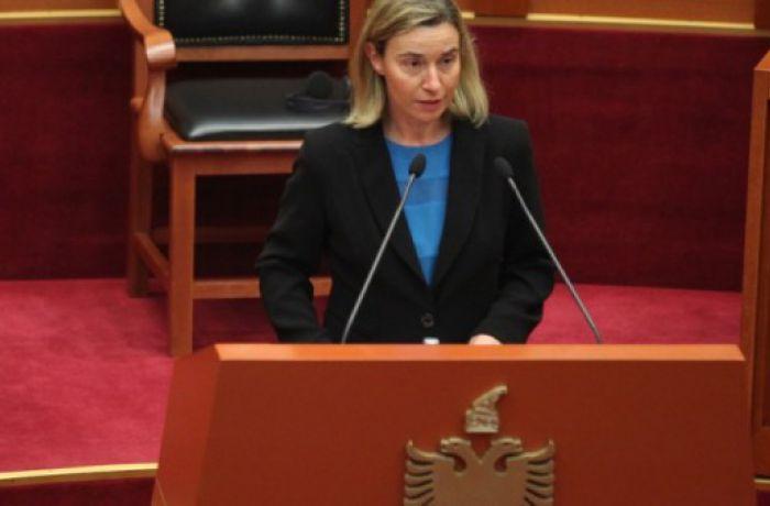 Могерини: Албания должна найти свое место в Европейском Союзе
