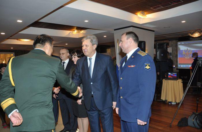 Как посольство России в Албании праздновало День защитника Отечества