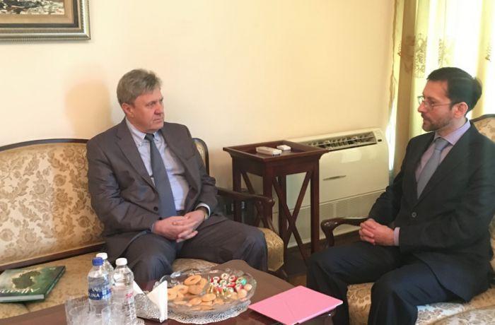 Посол России в Тиране встретился с ректором Московского исламского института