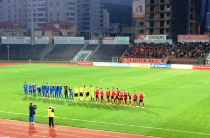 Молодежная сборная Албании по футболу сыграла вничью с командой Греции