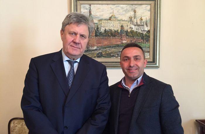 Посол России в Албании встретился с мэром города Клёс