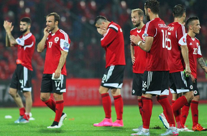 Футбольная сборная Албании поднялась на 1 строчку в рейтинге FIFA