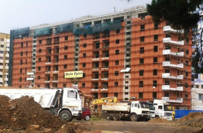 На строительный сектор приходится 3% ВВП Албании