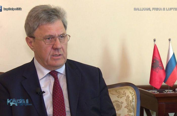 Посол РФ в Албании рассказал об отношениях между странам в интервью телеканалу Vizion Plus