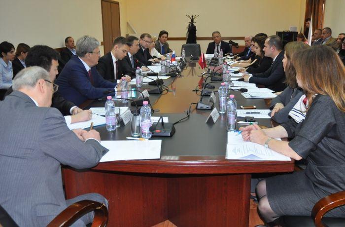 Состоялась встреча членов Российско-Албанской Межправительственной комиссии по торговле, экономическому и научно-техническому сотрудничеству