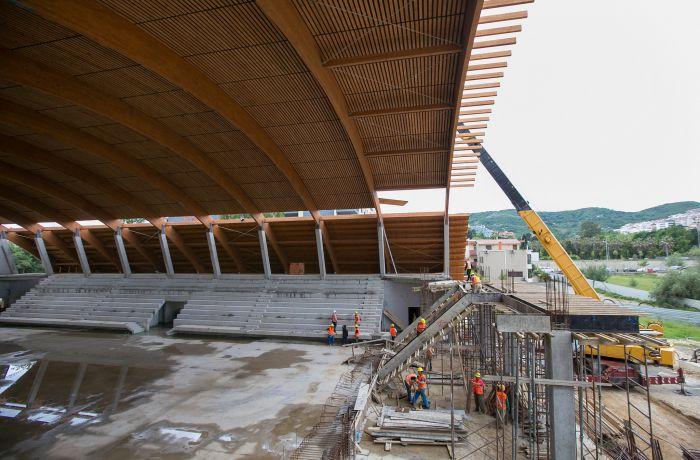 В 2016 году в тиранском Олимпийском парке откроется обновленный Дворец спорта