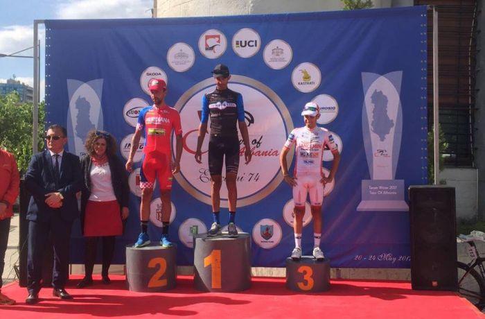 Победителем этапа велогонки Giro d'Albania 2017 стал итальянец Пьерпаоло Фикара