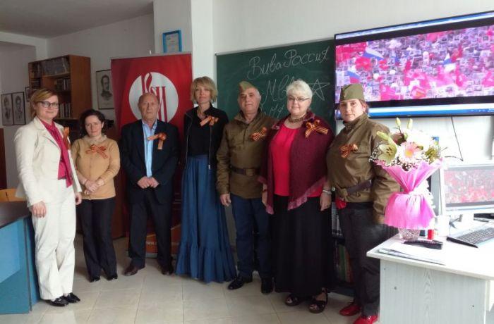 Авторы курсов русского языка в Албании провели урок на тему Великой Отечественной войны