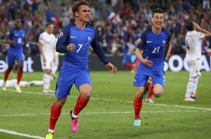 Евро-2016: сборная Албании не смогла сохранить ничейный счет в матче с Францией