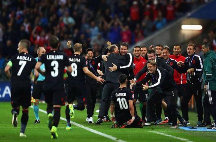 За победу над румынами сборная Албании получила 1 млн. евро и другие бонусы