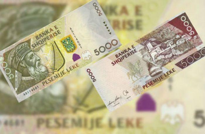 Албания вводит новые банкноты номиналом 200 и 5000 леков