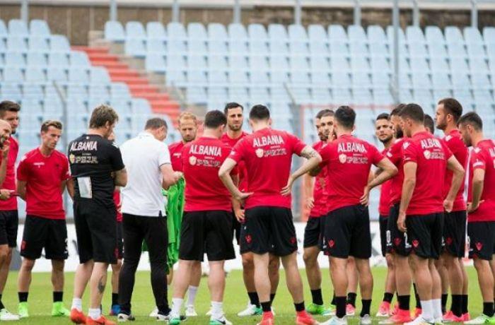 Сборная Албании проведет футбольный матч с Израилем после поражения в Люксембурге