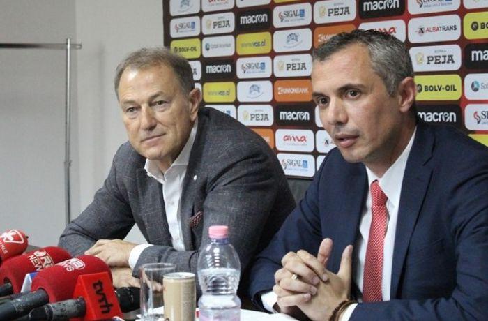 Де Биази покинет пост главного тренера сборной Албании в октябре 2017 года
