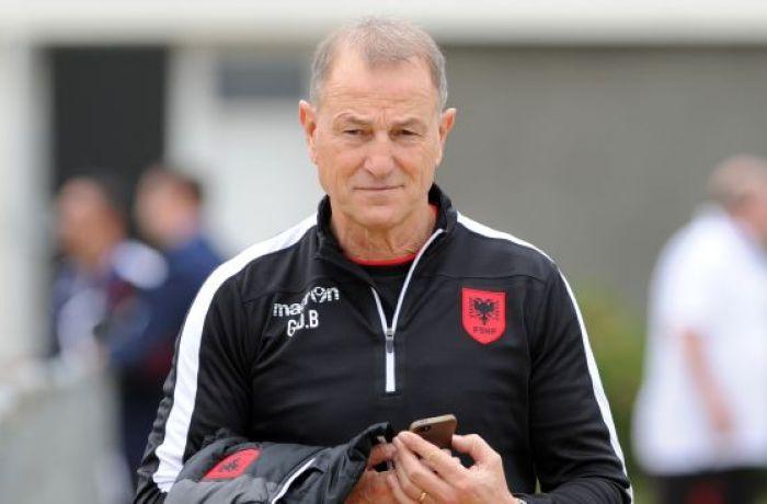 Главный тренер сборной Албании надеется стать новым наставником команды Англии