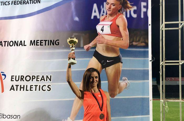 Албанка Луиза Гега заработала серебро на чемпионате Европы по легкой атлетике