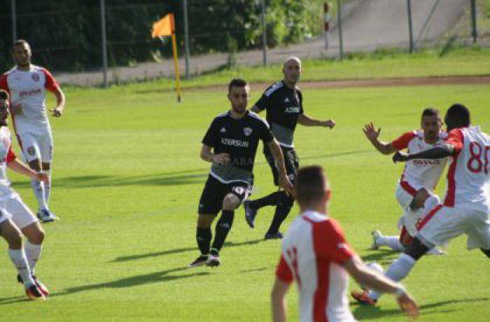 Албанский футбольный клуб Скендербеу обыграл команду Карабах