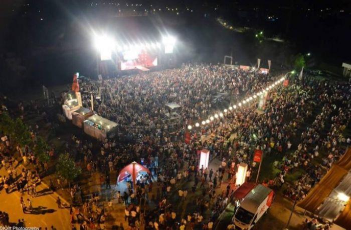 Как отметили Фестиваль пива в Корче в 2016 году