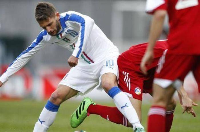 Молодежная сборная Албании сыграла вничью с командой Италии