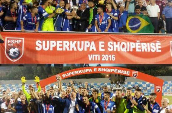 Суперкубок Албании отправляется на север