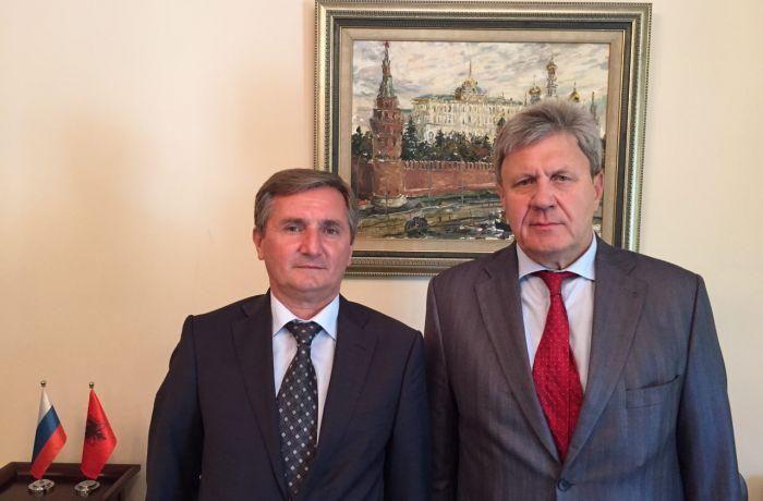 Посол России в Албании встретился со своим албанским коллегой, работающим в РФ