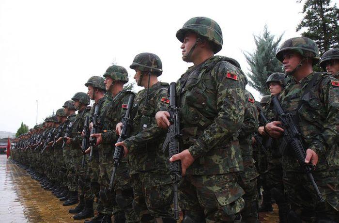 Сколько Албания расходует на свою армию