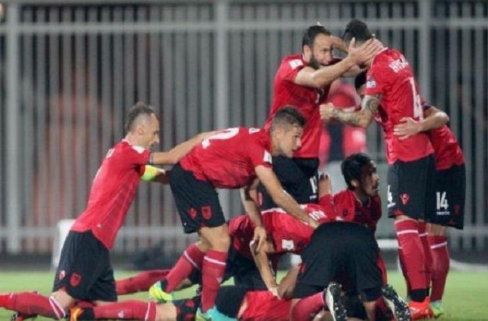 Сборная Албании обыграла Македонию в квалификационном матче перед ЧМ 2018 в России