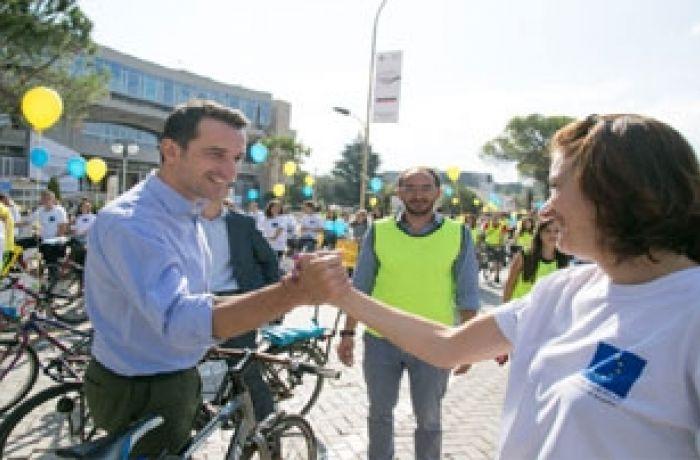 Как отмечали День без автомобиля 2016 в Албании