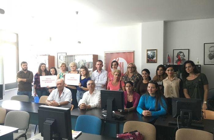 Посольств России в Албании организовало курсы русского языка