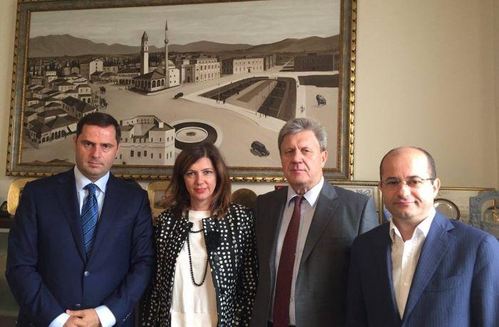 О встрече Посла России в Албании с представителями Союза ТПП Албании и ТПП Тираны