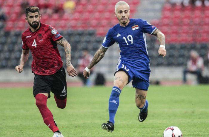 ЧМ-2018: квалификационный футбольный матч Албания-Лихтенштейн закончился со счетом 2-0