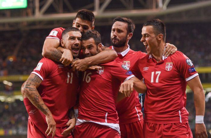 ЧМ 2018 в России: сборная Албании по футболу сыграла вничью с командой Македонии