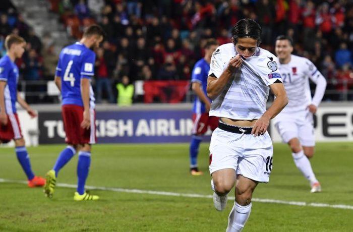 Сборная Албании по футболу обыграла Лихтенштейн со счетом 2-0
