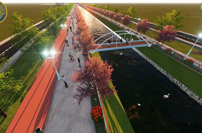 В албанском городе Кавая появится современный променад на набережной реки