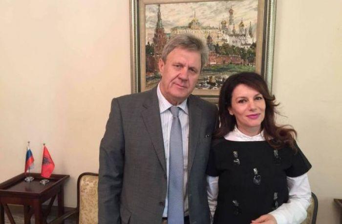 О встрече Посла России с директором албанского Национального театра оперы и балета
