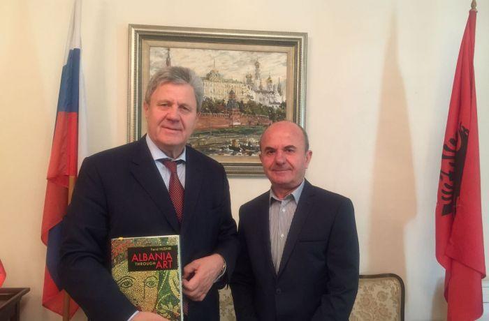 Посол РФ в тиране встретился с членом Академии наук Албании