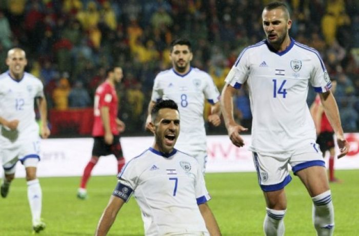 Сборная Албании проиграла израильской команде со счетом 3-0