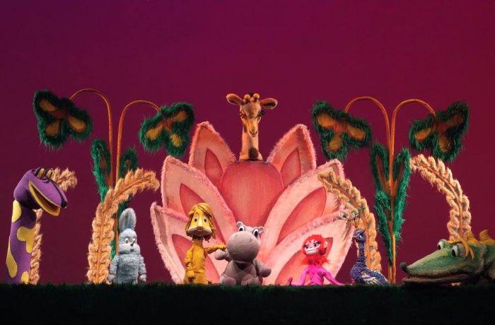 В тиранском Театре кукол состоялась премьера российского спектакля