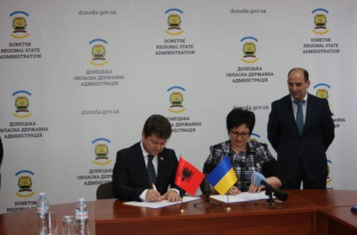 Украина и Албания активизируют сотрудничество в области торговли и туризма