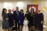 Посольство РФ в Тиране провело новогоднюю встречу со слушателями курсов русского языка